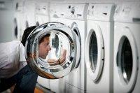 Номер модели и серийный номер стиральной машины